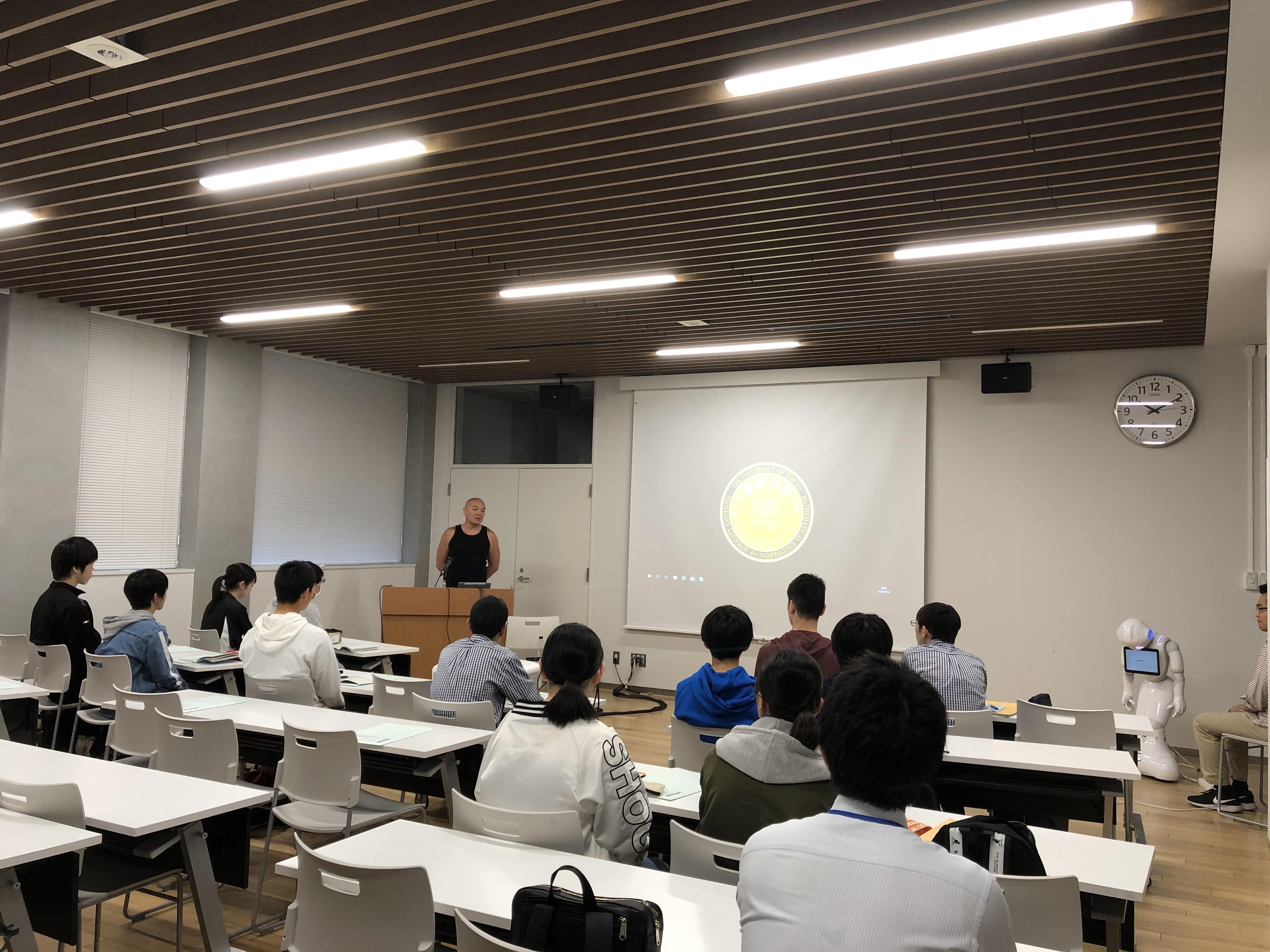 昨年度に続き、今年も仙台市立上杉山中学校の訪問学習を受け入れました。